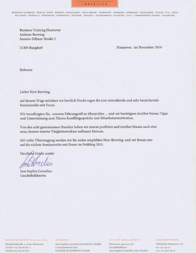 Dahler & Company über Andreas Berwing
