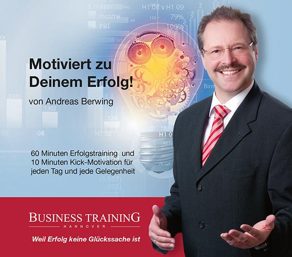 Andreas Berwing - Motiviert zum Erfolg - Cover