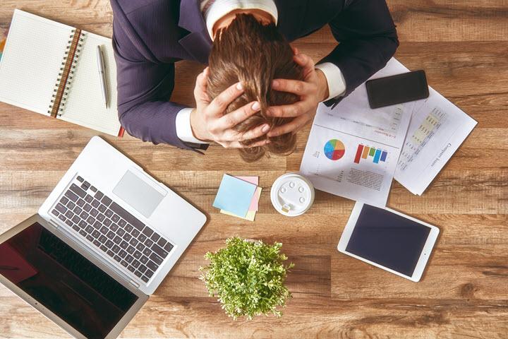 Probleme von Führungskräften