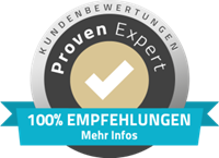 Proven Expert Logo Bewertung